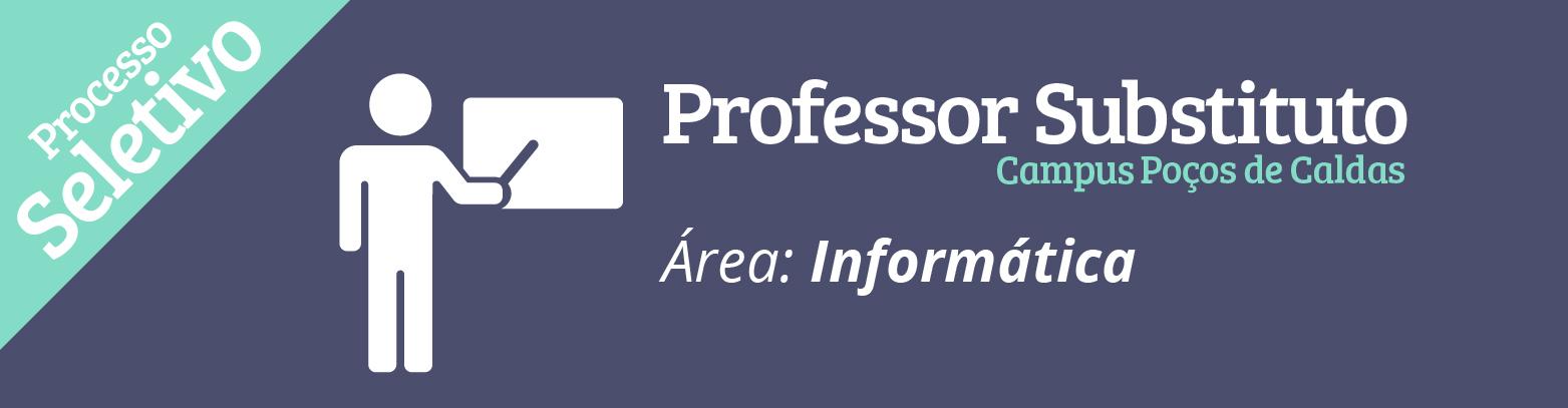 IF abre seleção para contratar professor substituto na área de Informática